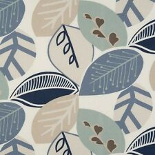 Clarke and Clarke Malena Mineral Designer Curtain Upholstery Fabric