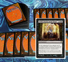 mtg BLACK ZOMBIES DECK Magic the Gathering rare cards ever after