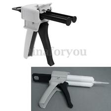 50ML AB Epoxy Glue Gun Applicator Glue Adhensive Mixed 1:1 and 2:1 Handle Spread
