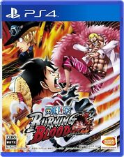 USED PS4 ONE PIECE BURNING BLOOD Bandai namco entertainment Free Shipping Japan