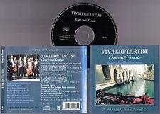 VIVALDI / TARTINI - Concerti/Sonate SERENISSIMA ENSEMBLE R. Muttoni 2000 CD RARE