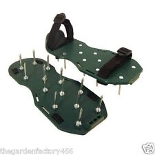 Lawn Aerator Aerating Shoes Sandals 13 x 5cm Spikes Per Shoe - Ready Assembled