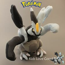 Pokemon Black Kyurem Plush Figure Soft Toy Doll Cool Toys Kids Best Gift NWT
