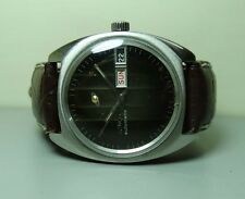 VINTAGE ENICAR AUTOMATIC DAY DATE SWISS MENS WRIST WATCH OLD USED ANTIQUE G292
