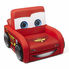 NEW DELTA CHILDREN DISNEY PIXAR CARS UPHOLSTERED FIGURAL CHAIR KIDS ARMCHAIR