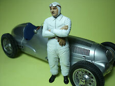 HERMANN  LANG  1/18  UNPAINTED  FIGURE   MADE   BY   VROOM  FOR  MERCEDES  CMC
