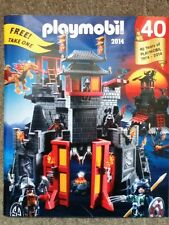 """Playmobil 2014 US/USA Catalog - Full-Size 8""""x10""""55 Pages 40th Aniversary Edition"""