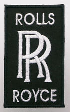 ROLLS ROYCE Car / Aerospace Marque Logo - Iron-On Patch - PICK 'N' MIX - #1C04