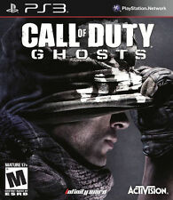 Call of Duty Ghosts PS3 NEW! WAR, WARFARE, MODERN KILL, GUN, BATTLE, BATTLEFIELD