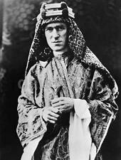 T E Lawrence - Lawrence of Arabia, 1918, Reprint Photo 7x5 inch World War 1