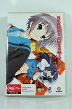 The Melancholy of Haruhi Suzumiya: Volume 2 - Region4 DVD - BRAND NEW