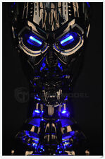 1/1 Terminator Salvation T3 Skull Life-Size Figure Bust Statue Collectible Toy