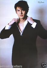 """DYLAN KUO """"WEARING BLACK SUIT"""" ASIAN POSTER -Taiwan Actor, The Outsiders, Shamo"""