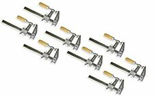 "Lot of 8: 12"" Inch BAR CLAMPS Heavy Duty Woodworking Wood Carpenter Tools"