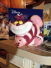 Disney Classics/Alice In Wonderland  CHESHIRE CAT 8.5in Ceramic Cookie Jar