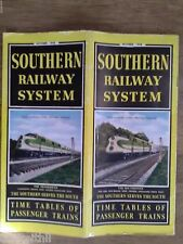 Southern Railway System 1948 Railroad Public Timetable