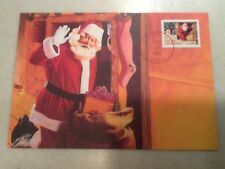 1991 Christmas Stamp FDC First Day Cover 10/17/1991 Santa, ID Postmark exit