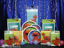 Hooray For Elmo Party Set #16 Hooray For Elmo Party Peices Sesame St Whole Set
