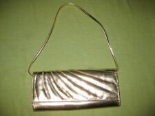LADIES GOLD EVENING BAG