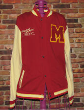 Michael Jackson Lmt Edition This Is It Thriller Varsity Letterman Jacket Sz-Lrg