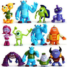 12 PCS Monsters Inc. Monsters University Mike Sully Action Figure Toy Loose US