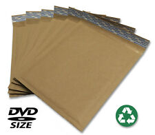 Size 0 ( 6.5x9 ) Recycled Natural Brown Kraft Bubble Mailer 100 ct (USA Made)