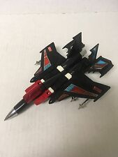 Transformers KO Four Star F-15 Phantom Black Jet Transformer Knock Off-Awesome