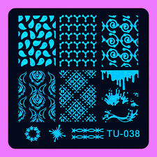 NEW Stamping Manicure Image Nail Art Image Stamp Template Tool Plate Polish T-38