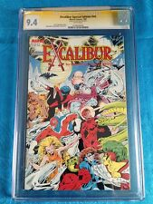Excalibur Special Edition 1987 #1 - Marvel - CGC SS 9.4 NM Signed by Alan Davis