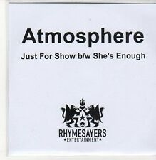 (DC545) Armosphere, Just For Show / She's Enough - 2011 DJ CD
