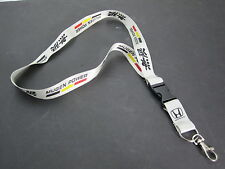 Honda Accord MUGEN SILVER GRAY Lanyard Neck  Key Chain Strap Quick Release