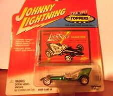 JOHNNY LIGHTNING SKINNI MINI Green The Lost Toppers Die Cast Metal + Patch MOC