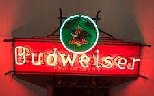 "Rare Anheuser Busch "" Budweiser King of Beers "" Neon Light Sign 31""."