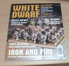 Games Workshop White Dwarf weekly magazine #3 15th FEB 2014 Warhammer 40,000 &