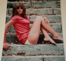 BRITT EKLAND /  8 X 10  SEXY  COLOR  PHOTO