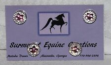 Horse Show Number Magnets - Pink Star - Saddleseat, Hunt Seat, Western
