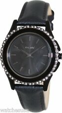 DKNY Women's Brooklyn Black Crystal Watch NY8704