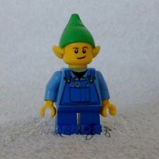 !! Discontinued Genuine New Lego Elf With Blue Dungarees Split From Set 10245 !!