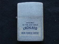 Zippo Lighter 1965 Lackland Air Force Base, Near Mint