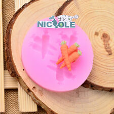 Carrot Silicone Mold Fondant Cake Tools Chocolate Candy Resin Jewelry Clay Mould