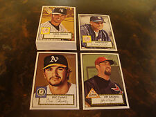 2001 Topps Heritage Baseball--Short Prints--All Low Numbers--Lot Of 22--See List