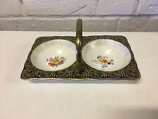 Antique Royal Doulton Burslem Porcelain Condiment or Candy Dish / Basket