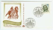 Berlin FDC Ersttagsbrief 1967 Berliner Kunstschätze Mi.Nr.304