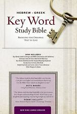 Key Word Study Bibles: Hebrew-Greek Key Word Study Bible : New King James...