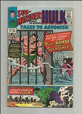 TALES TO ASTONISH 70 FN 1965 SUB-MARINER starts, KIRBY HULK MARVEL SILVER AGE