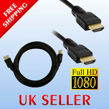 1.8 m Cavo HDMI v1.4 HD 1080P VIDEO LEAD PER TV, HDTV, DVD, BluRay, Media Player 1.4