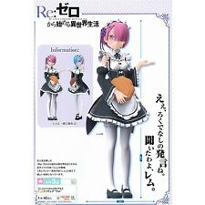 "Re:Zero kara Hajimeru Isekai Seikatsu Ram Sega Prize 7"" PVC Figure New In Box"