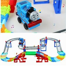 Thomas And Friends Model Train Electric Music with Rainway Toy Kids Gift