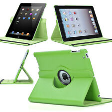 360-degree Swivel Leather Case for Apple® iPad® 2 / The new iPad® - Green