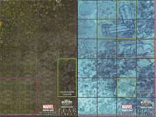 Heroclix Map FALLEN ASGARD / PACIFIC OCEAN (Fear Itself)